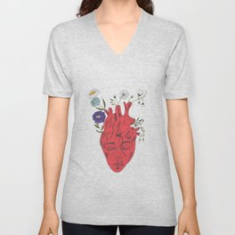 Peace Of Heart Unisex V-Neck