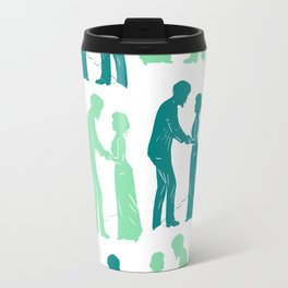 Love - A never-ending Back & Forth Travel Mug
