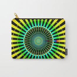Rainbow Spokes Carry-All Pouch