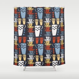 Cup-a-Coffee Shower Curtain