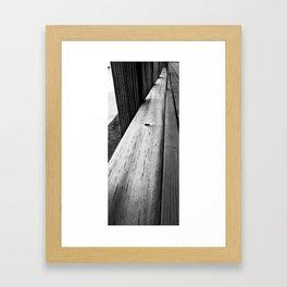 longevity. Framed Art Print