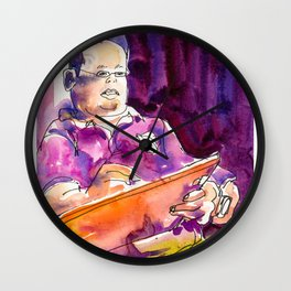 20170311D George Huang USKSG Wall Clock