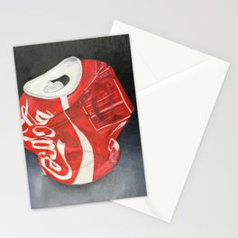 Coca-Cola Can Stationery Cards