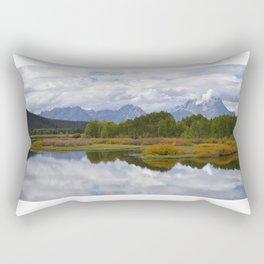 Grand Tetons, Wyoming Rectangular Pillow