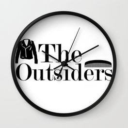 The Outsiders Wall Clock