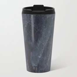 Navy Blue Marble Travel Mug
