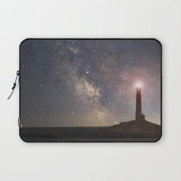Milkyway over Thacher Island Laptop Sleeve