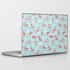 Fox and Bunny Pattern Laptop & iPad Skin