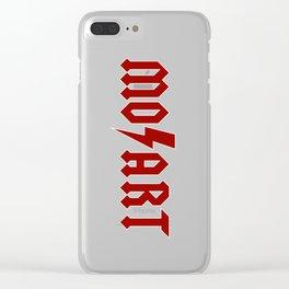 Rock Mozart Clear iPhone Case