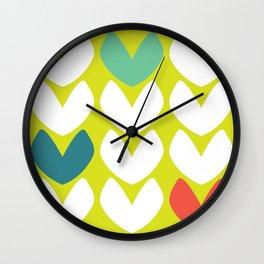 Heartfelt #4 Wall Clock