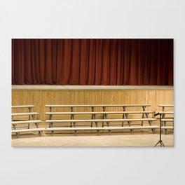 Empty Stage Canvas Print