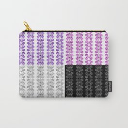 Wheels or Flowers? Carry-All Pouch