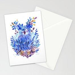 One eyed bird Stationery Cards