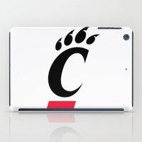 cincinnati iPad Cases featuring NCAA - Cincinnati Bearcats by Katieb1013