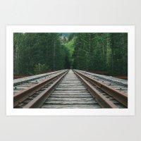 That PNW Bridge Art Print