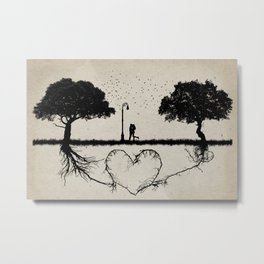 together for love Metal Print