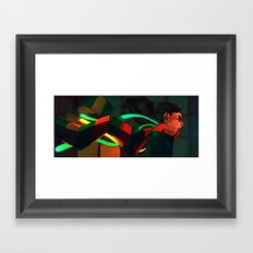 Scarfed Framed Art Print