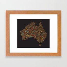 Indigenous Australia Framed Art Print