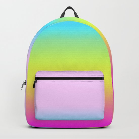 Rainbow Gradient Backpack
