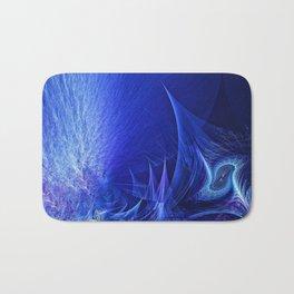 veil of blue Bath Mat