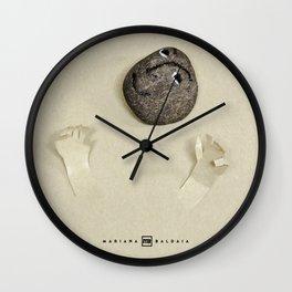 Hands Up! A laughter assault! Wall Clock
