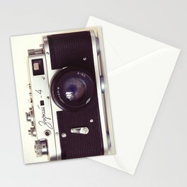 Zorki vintage camera Stationery Cards