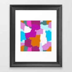 Me and You Mingled in the Dark Framed Art Print