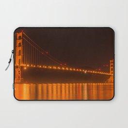 Golden Gate Reflection Laptop Sleeve