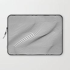 Minimal Curves Laptop Sleeve