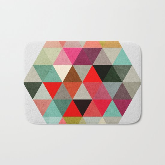 Geo Hex 03. Bath Mat