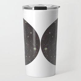 Blob floating in space Travel Mug