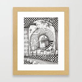 There will be Nonsense in it Framed Art Print
