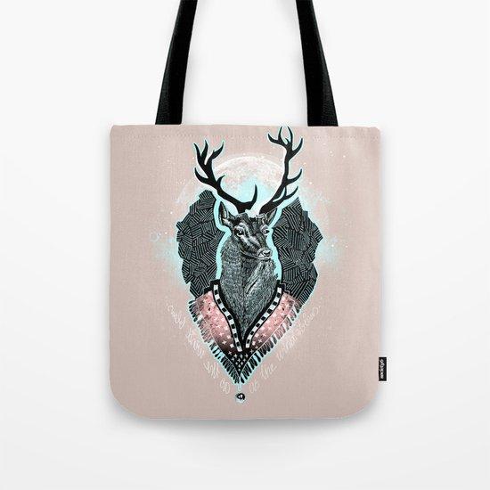 Wind:::Deer Tote Bag