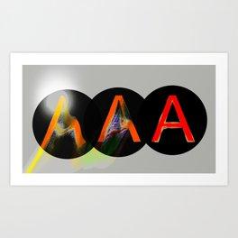 America's Credit Note II Art Print