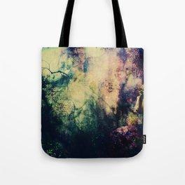 Dark ink texture Tote Bag