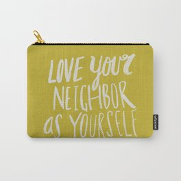 Love Your Neighbor x Mustard Carry-All Pouch