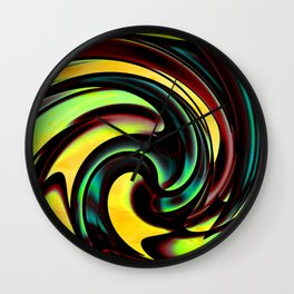 Meteoric Wall Clock