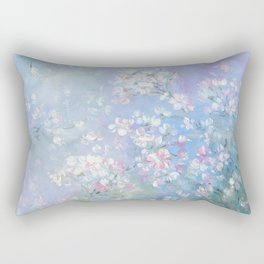 Wild Roses Rectangular Pillow