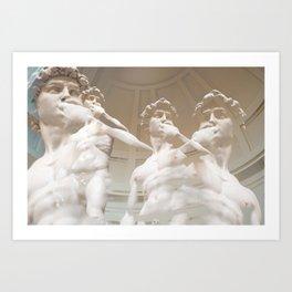The Davids Art Print