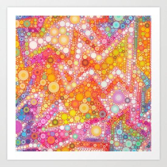 Sunshine Bubbles Art Print
