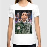 taxi driver T-shirts featuring Obama taxi driver by IvándelgadoART