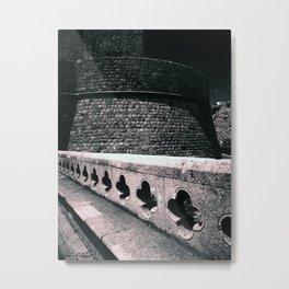 Rose Castle Metal Print