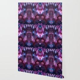 Sangria Wine Fractal Tie Dye Wallpaper
