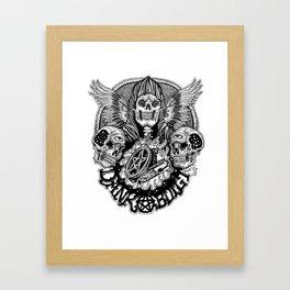 dankbuilt Framed Art Print