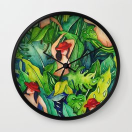 Things That Live in The Forest Wall Clock