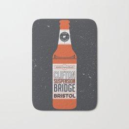 Clifton Suspension Bridge Brew Bath Mat