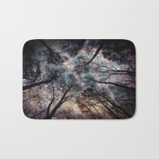Starry Sky in the Forest Bath Mat