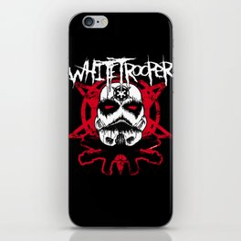 Whitetrooper iPhone Skin