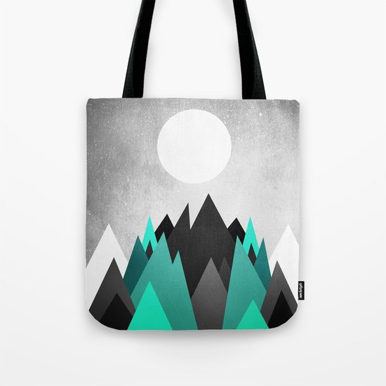 Cold Planet Tote Bag
