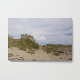 Hatteras Sand Dunes Metal Print